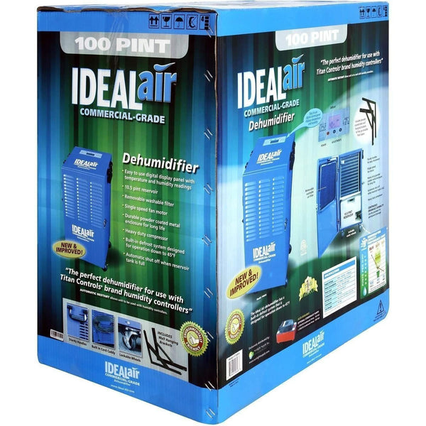 Ideal-Air™ Commercial Grade Dehumidifier, Up To 100 Pint