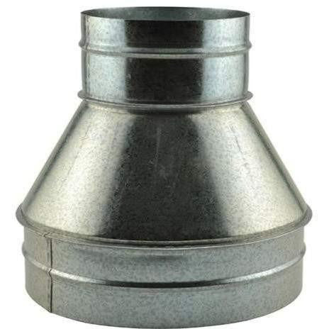 Ideal-Air Duct Reducer 10 X 6 Vent & | Reducers