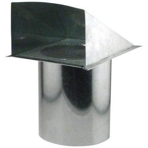 Ideal-Air Screened Wall Vent 8 & Duct | Connectors