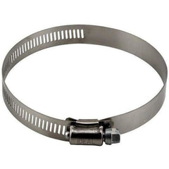 Ideal-Air™ Stainless Steel Hose Clamps, 4"