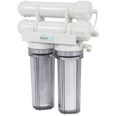 Ideal H2O® Classic 3 Stage RO System with Coconut Carbon Pre Filter, 200 GPD