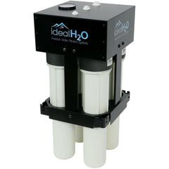 Ideal H2O® High Output RO with Dual Catalytic Carbon Pre-filters, 700 GPD