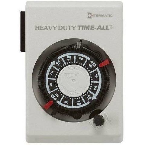 Intermatic® Heavy Duty Timer, 240V
