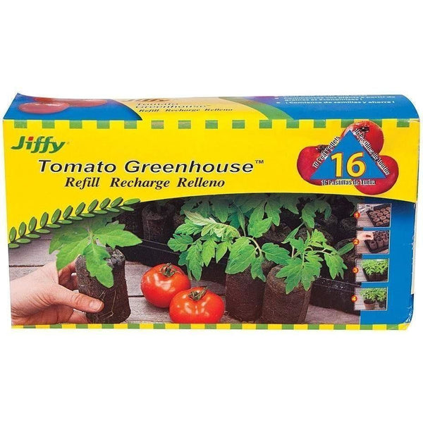 Jiffy-7® Peat Pellet 50 Mm | Pack Of 16 Seed & Clone Inserts Plugs