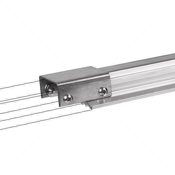 Lightrail® Auxiliary Rail 4 Light | Movers