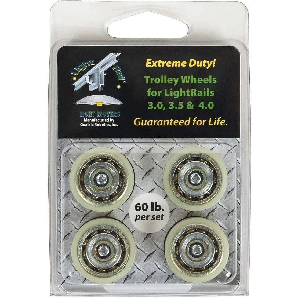 LightRail® Extreme Duty Trolley Wheels
