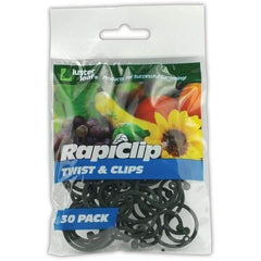Luster Leaf® Rapiclip Twist & Clips | Pack of 30