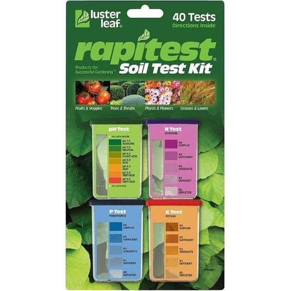 Luster Leaf® Rapitest® Soil Test Kit Kits |