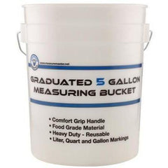 Measure Master® Graduated Measuring Bucket, 3.5 gallon
