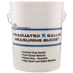 Measure Master® Graduated Measuring Bucket, 5 gallon