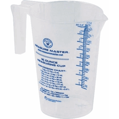 Measure Master® Graduated Round Container, 16 oz / 500 mL