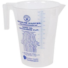 Measure Master® Graduated Round Container, 160 oz / 5000 mL
