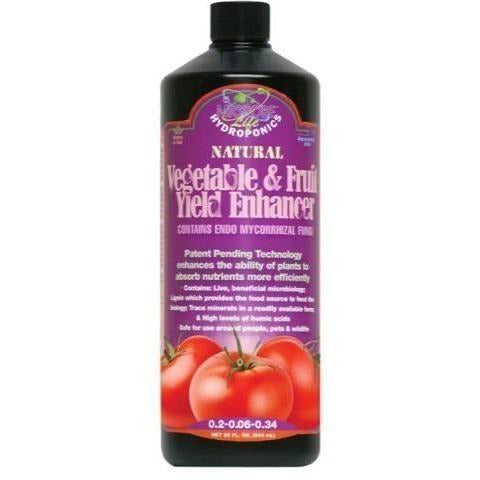 Microbe Life Vegetable & Fruit Yield Enhancer, qt