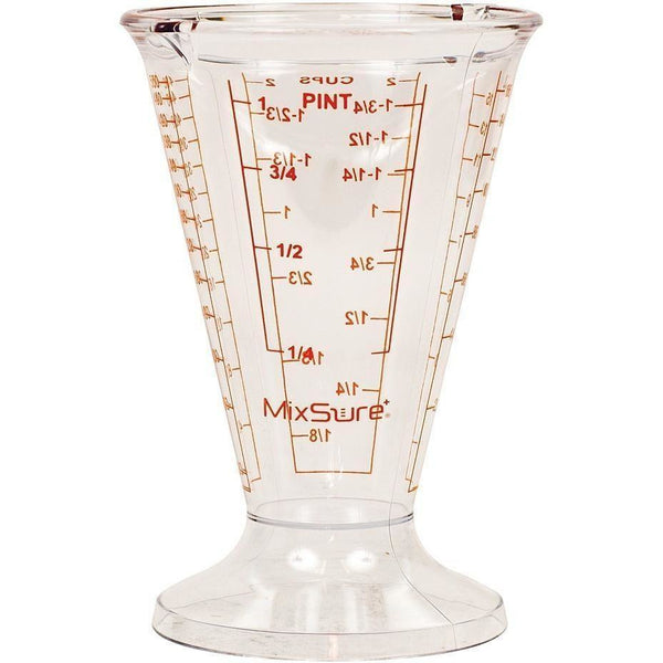 Mixsure+® Conical Beaker 500 Ml | Case Of 12 Measure Liquid