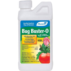 Monterey Bug Buster-O Natural Pyrethrin Organic Insect Control OMRI Listed, 16 oz