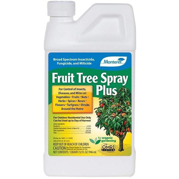 Monterey Fruit Tree Spray Plus Concentrate Qt Plant Pests | Insect Control