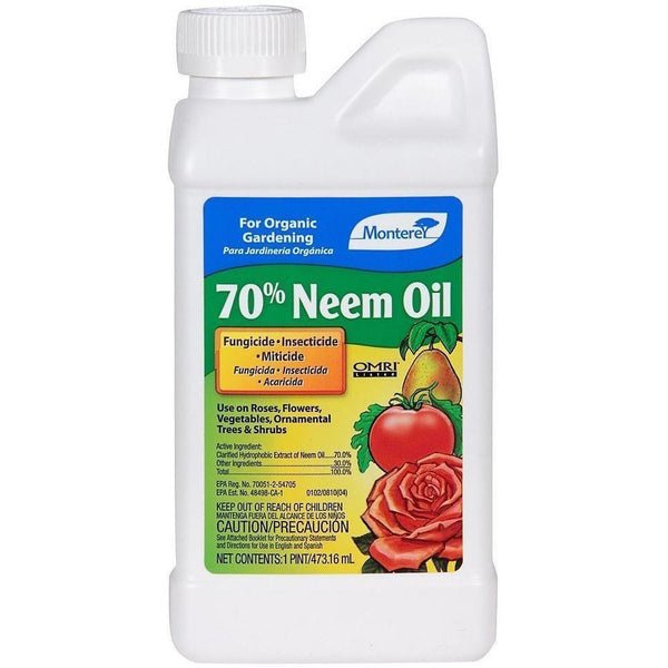 Monterey Neem Oil Pt Plant Pests | Insect Control