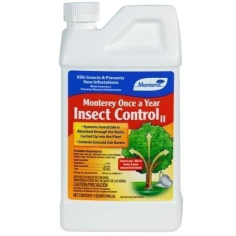 Monterey Once A Year Insect Control Ii Qt Plant Pests |