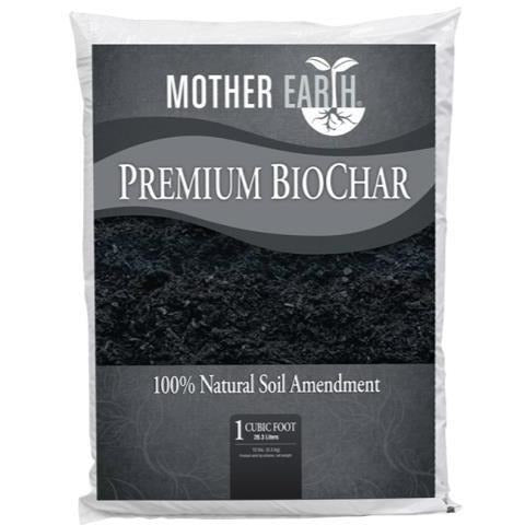 Mother Earth® Premium Biochar 1 Cu Ft Grow Media | Amendments