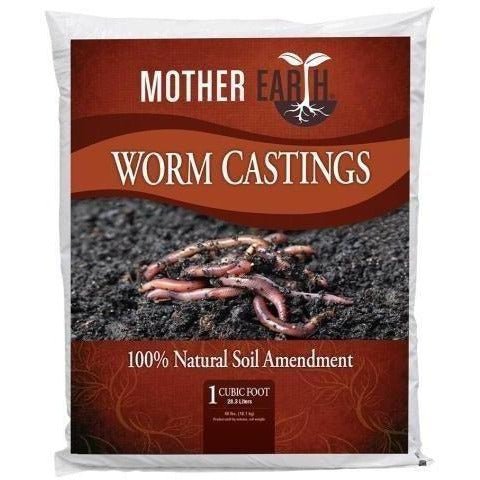 Mother Earth® Worm Castings 1 Cu Ft Grow Media | Amendments