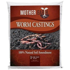 Mother Earth® Worm Castings, 1 cu ft