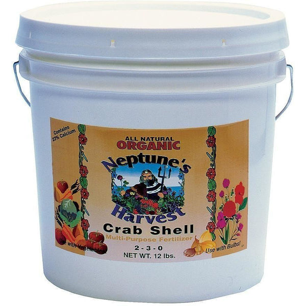 Neptunes Harvest Crab Shell 12 Lb Nutrients | Granular & Powder