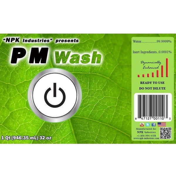Npk Pm Wash Gal Foliar Sprays | Washes & Wetting