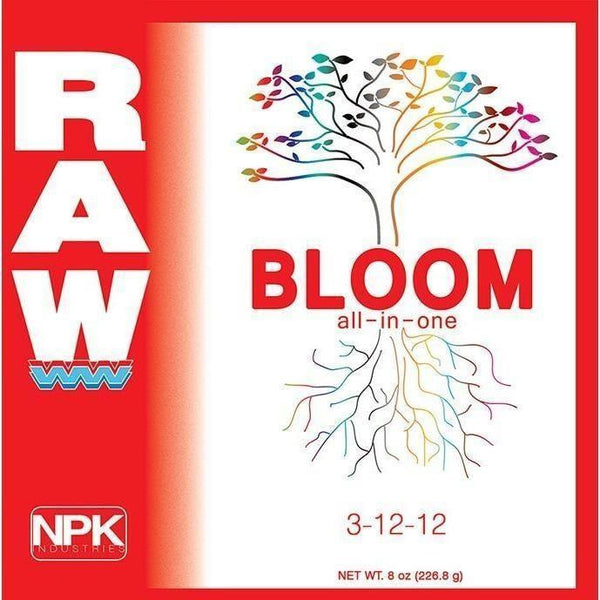 Npk Raw Bloom 8 Oz Nutrients | Granular & Powder