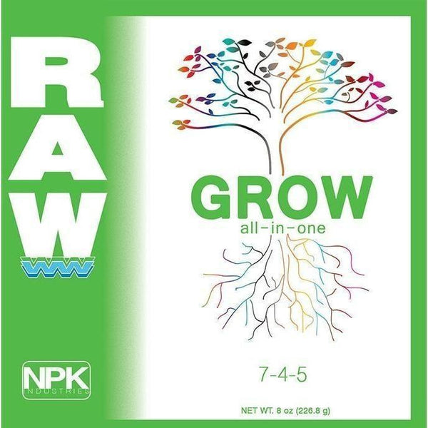Npk Raw Grow 2 Lb Nutrients | Granular & Powder