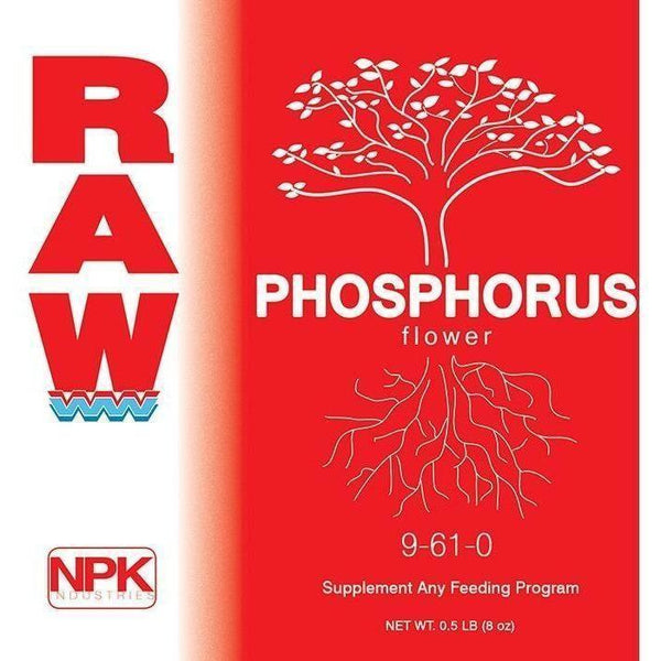 Npk Raw Phosphorus 8 Oz Nutrients | Granular & Powder