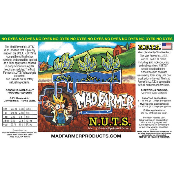 Mad Farmer™ N.U.T.S.™ (Nutrient UpTake Solution), 55 gal | Special Order Only