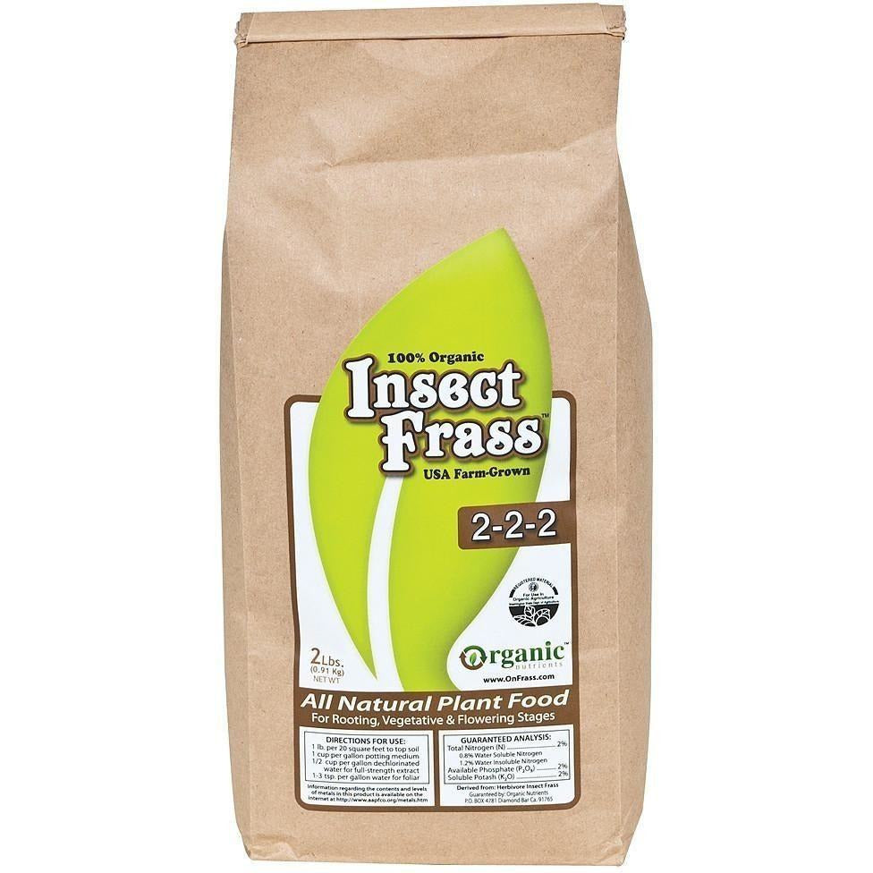 Organic Nutrients™ Insect Frass, 2 lb