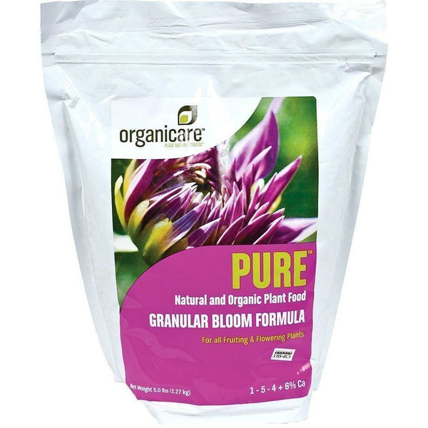 Organicare® Pure® Bloom 5 Lb Nutrients | Granular & Powder