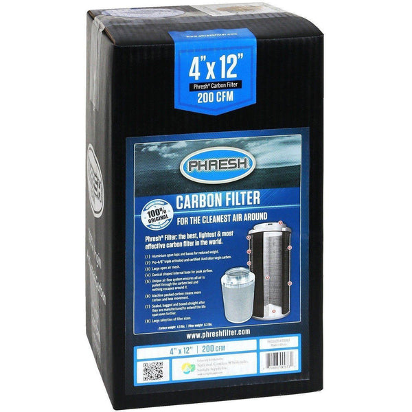 Phresh® Filter 4 X 12 200 Cfm Air Purification | Carbon Filters