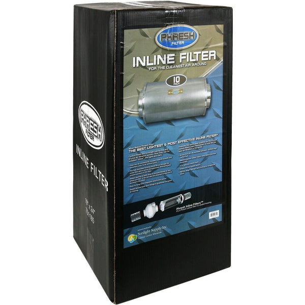 Phresh® Inline Filter 10 850 Cfm Air Purification | Carbon Filters