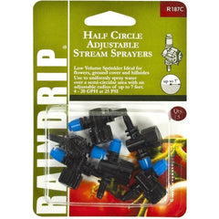 Raindrip® Half Circle Adjustable Stream Sprayers | Pack of 5
