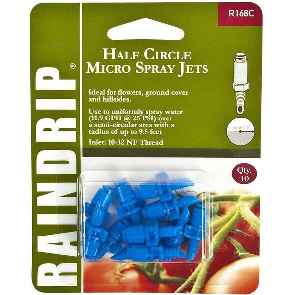 Raindrip® Half Circle Micro Spray Jet | Pack Of 10 Irrigation & Drip Parts