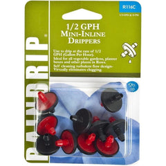 Raindrip® Mini In-Line Drippers, 1/2 gph | Pack of 10