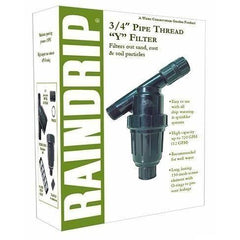 Raindrip® Pipe Thread Y Filter, 3/4""