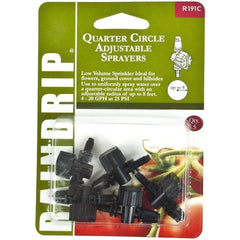 Raindrip® Quarter Circle Adjustable Sprayers | Pack of 5