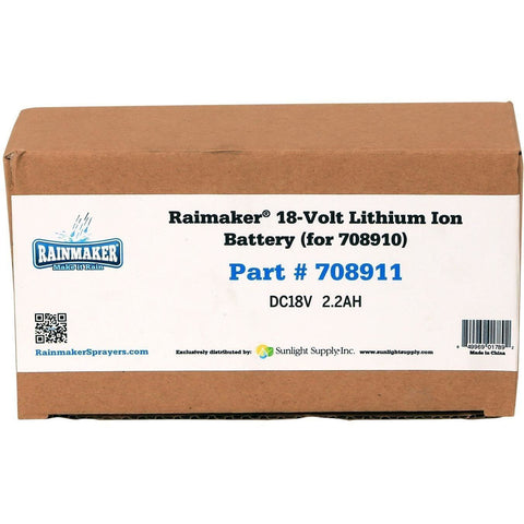 Rainmaker® 18 Volt Lithium Ion Battery