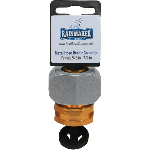 "Rainmaker® Metal Hose Repair Coupling Female, 5/8"" - 3/4"""