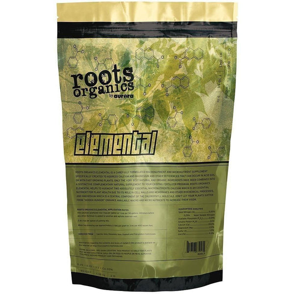 Roots Organics Elemental 3 Lb Nutrients | Granular & Powder