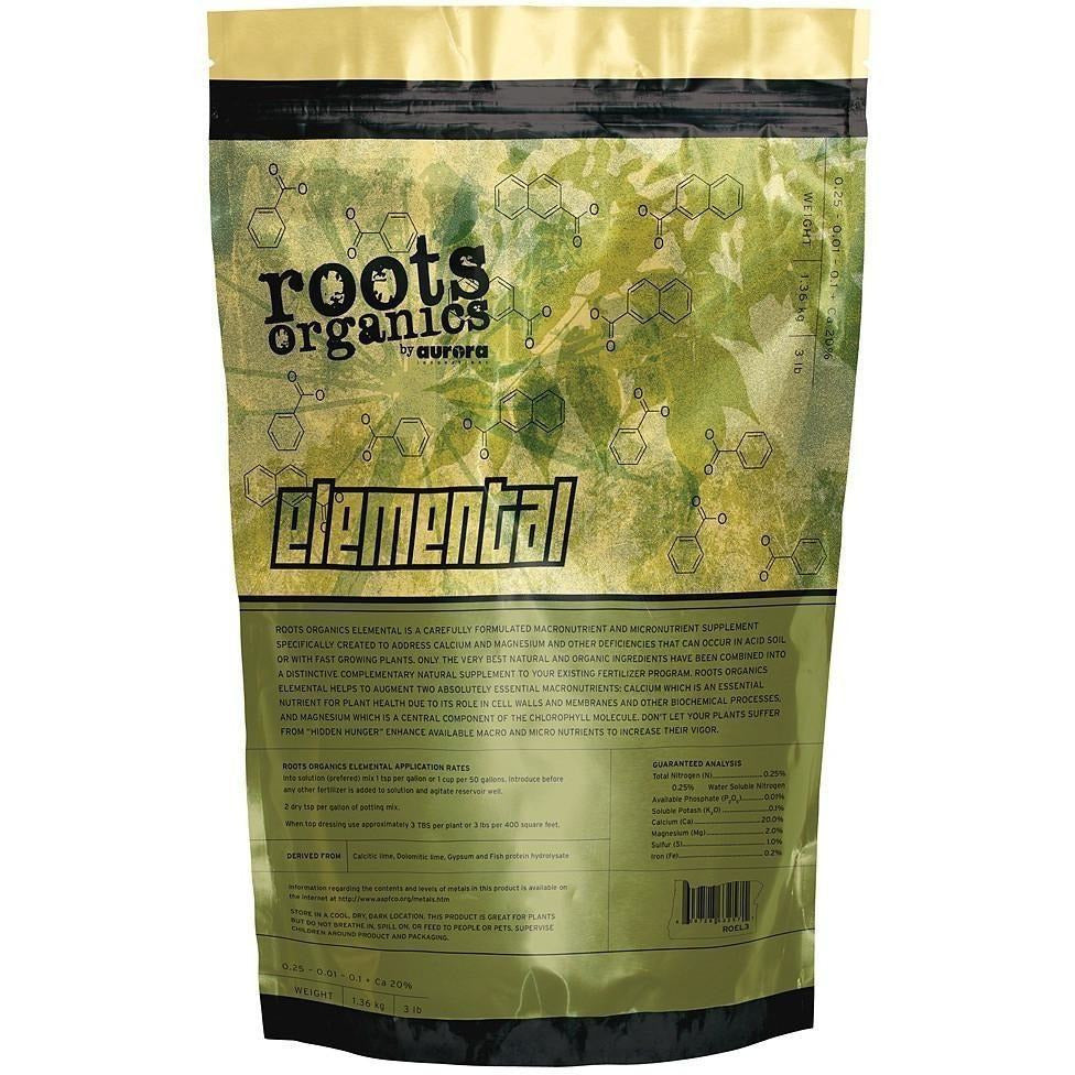 Roots Organics Elemental, 40 lb | Special Order Only