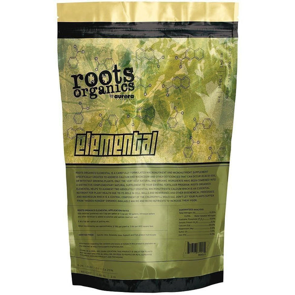 Roots Organics Elemental 40 Lb | Special Order Only Nutrients Granular & Powder