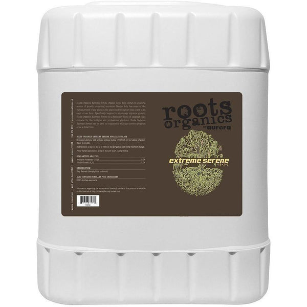 Roots Organics Extreme Serene 5 Gal Nutrients | Liquid