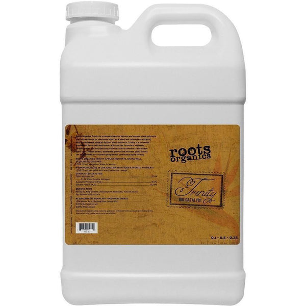 Roots Organics Trinity 2.5 Gal Nutrients | Liquid