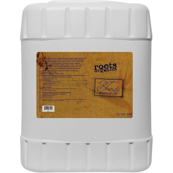Roots Organics Trinity 5 Gal Nutrients | Liquid