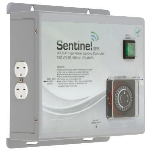 Sentinel Gps High Power Lighting Controller 4 Outlet With Integrated Timer Hplc-4T | Special Order Only Controllers