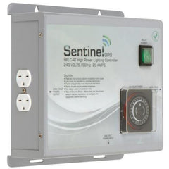 Sentinel GPS High Power Lighting Controller 4 Outlet with Integrated Timer, HPLC-4T | Special Order Only